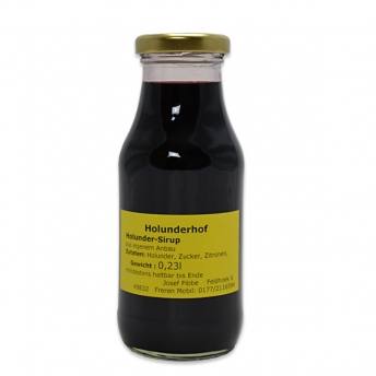 Holunder-Sirup 230 ml